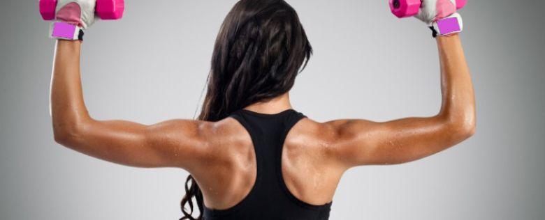 Ejercicios con mancuernas para espalda alta