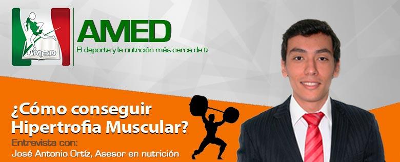 ¿Cómo conseguir hipertrofia muscular?