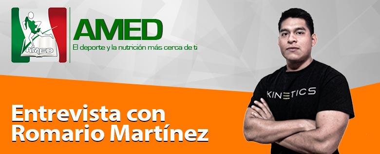 Episodio 041-Entrevista con Romario Martínez