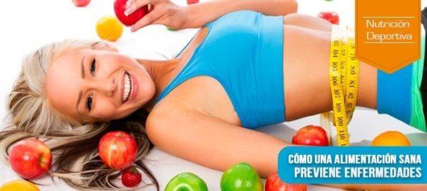 alimentación sana previene enfermedades