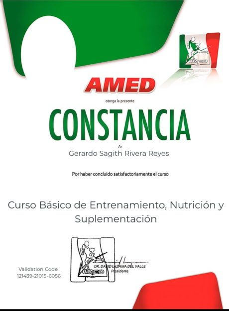 Certificado para usuarios Gerardo Sagith Rivera Reyes