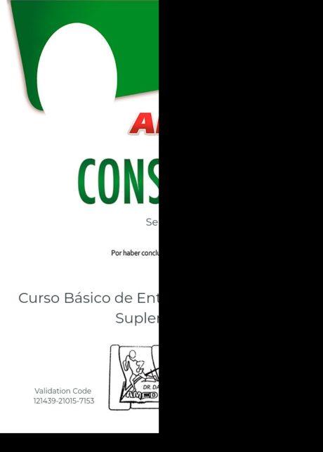 Certificado para usuarios Sergio García